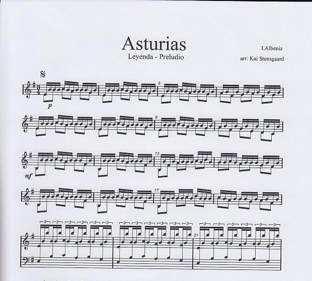 Asturias Leyenda – Music for marimba & aluphone