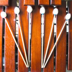 Marimba solo - 6 mallets