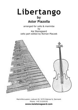 Libertango for cello & marimba - PDF