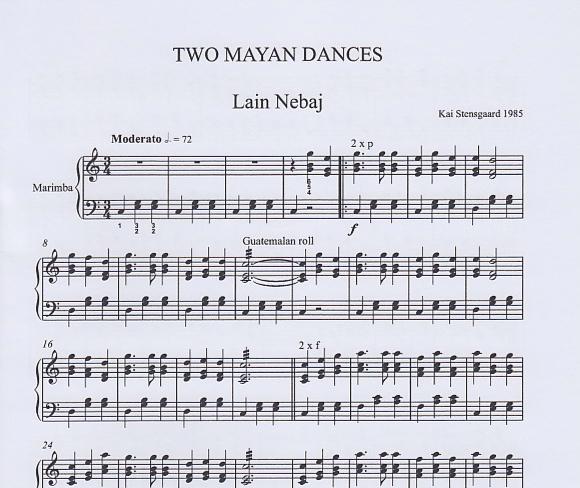 Two Mayan Dances